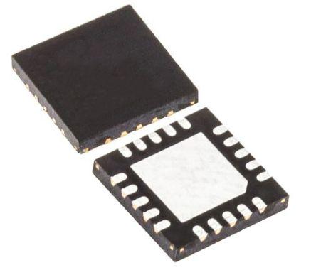 Maxim Integrated MAX3222ECTP+, Line Transceiver, RS-232 1 (RS-232)-TRX, 3 → 5.5 V, 20-Pin TQFN-EP (60)