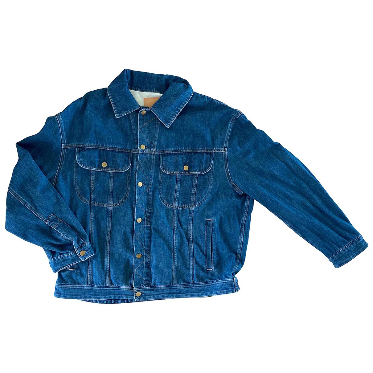 Acne Studios \N Blue Denim - Jeans jacket  for Men S International