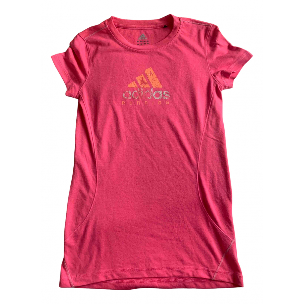Adidas \N Top in  Rosa Polyester