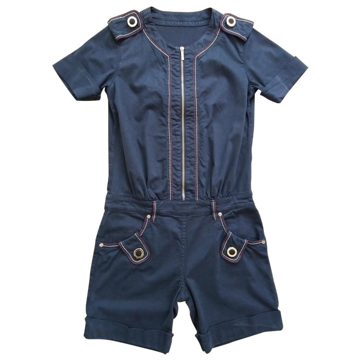 Fendi \N Jumpsuit in  Blau Baumwolle