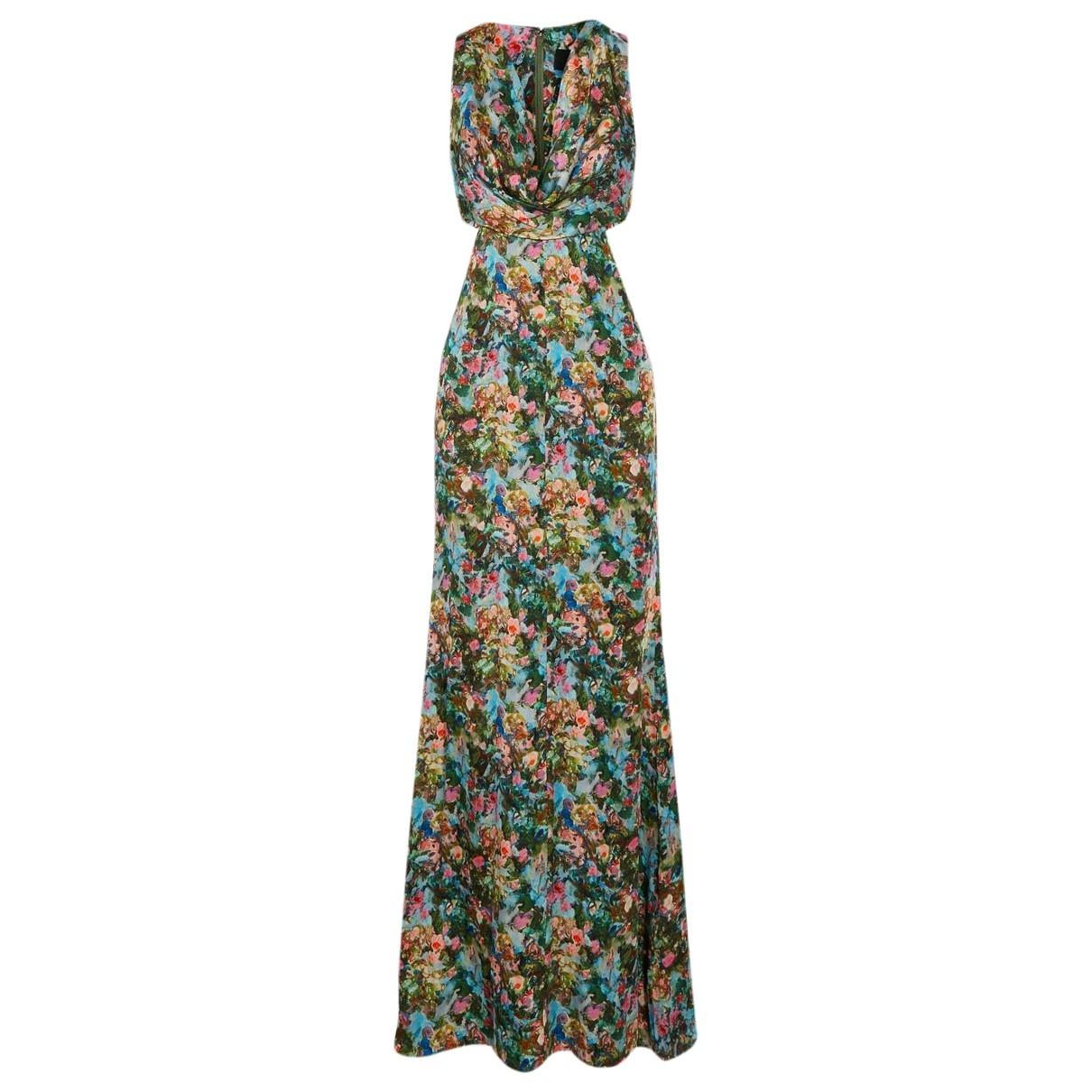 Cushnie Et Ochs - Robe   pour femme en soie - multicolore