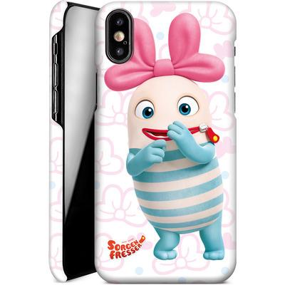 Apple iPhone XS Smartphone Huelle - Sorgenfresser Lilli von Sorgenfresser