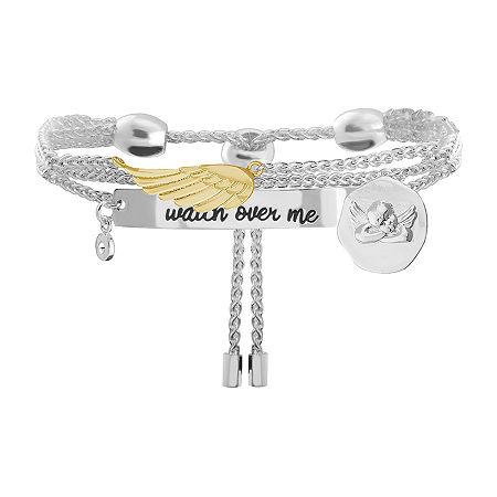 Sparkle Allure Cubic Zirconia 8 Inch Link Chain Bracelet, One Size , No Color Family