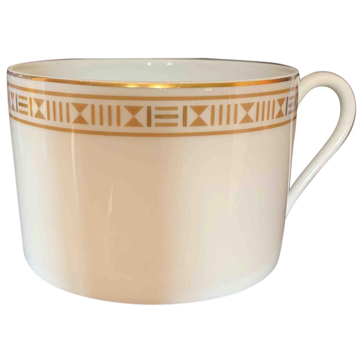 Hermes \N Tischkultur in  Weiss Porzellan
