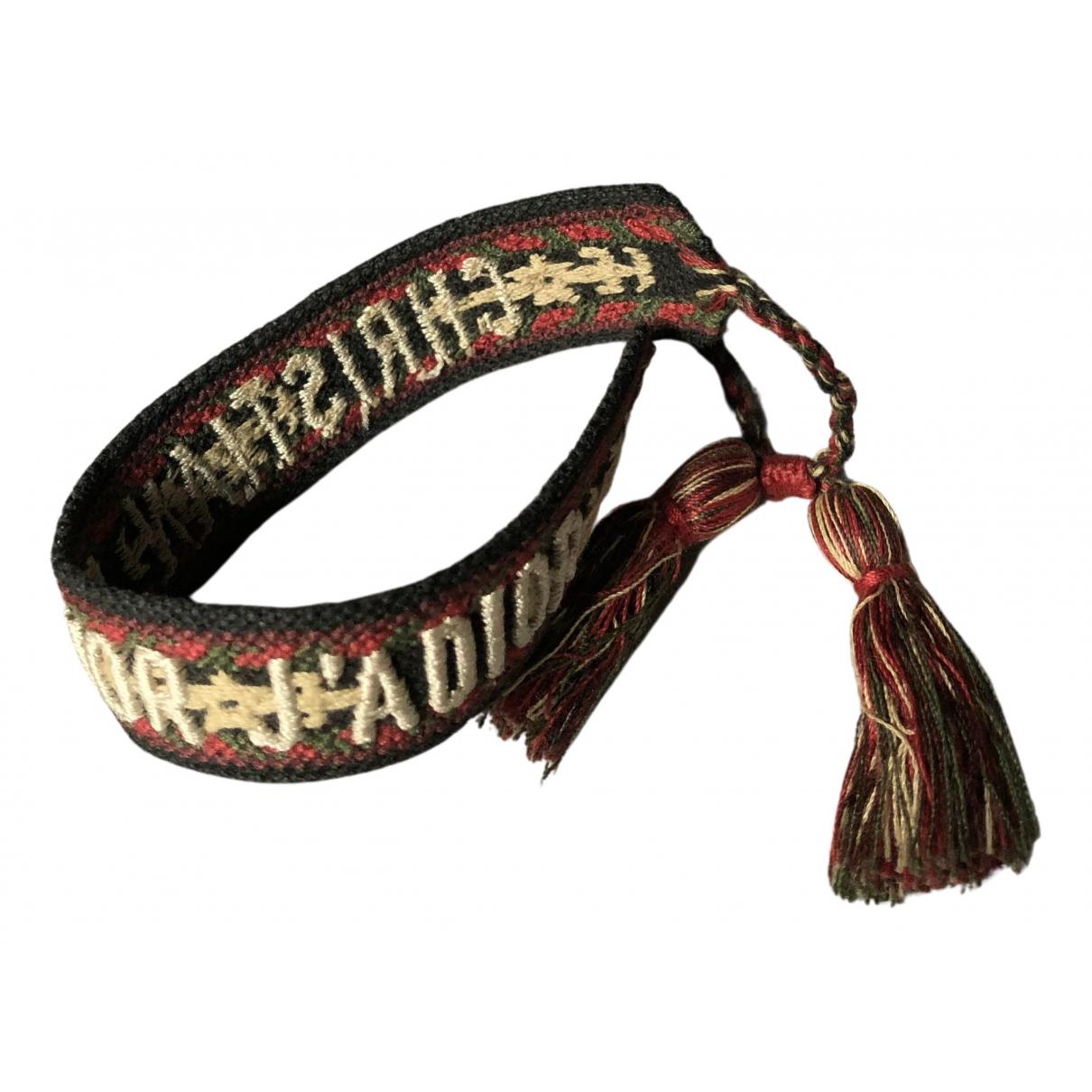 Dior Jadior Multicolour Cloth bracelet for Women N