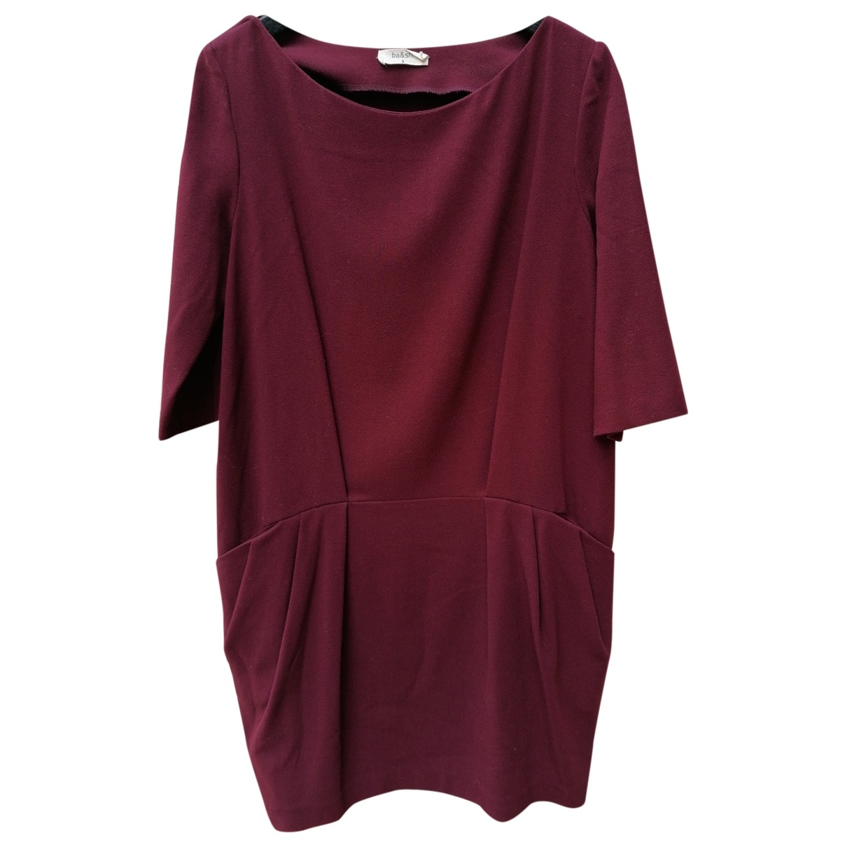 Ba&sh \N Burgundy Wool dress for Women 3 0-5