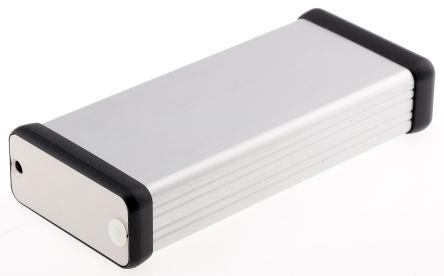 Hammond Unpainted Extruded Aluminium Handheld Enclosure, 120 x 54 x 23mm