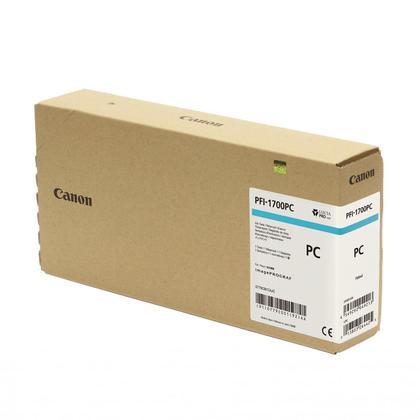 Canon PFI-1700 0779C001AA Original Photo Cyan Pigment Ink Tank