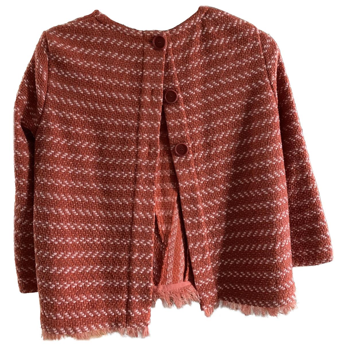 Maje - Veste   pour femme en laine - orange