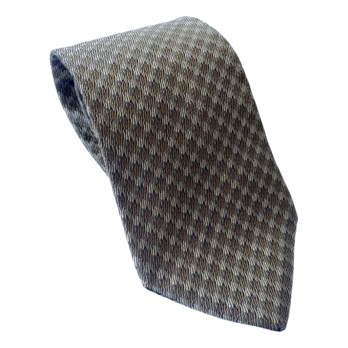 Christian Dior \N Krawatten in  Braun Seide