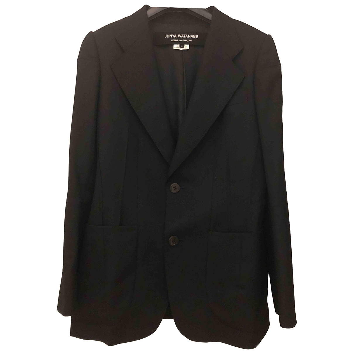 Junya Watanabe \N Black Wool jacket for Women L International