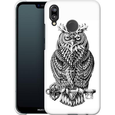 Huawei P20 Lite Smartphone Huelle - Great Horned Owl von BIOWORKZ