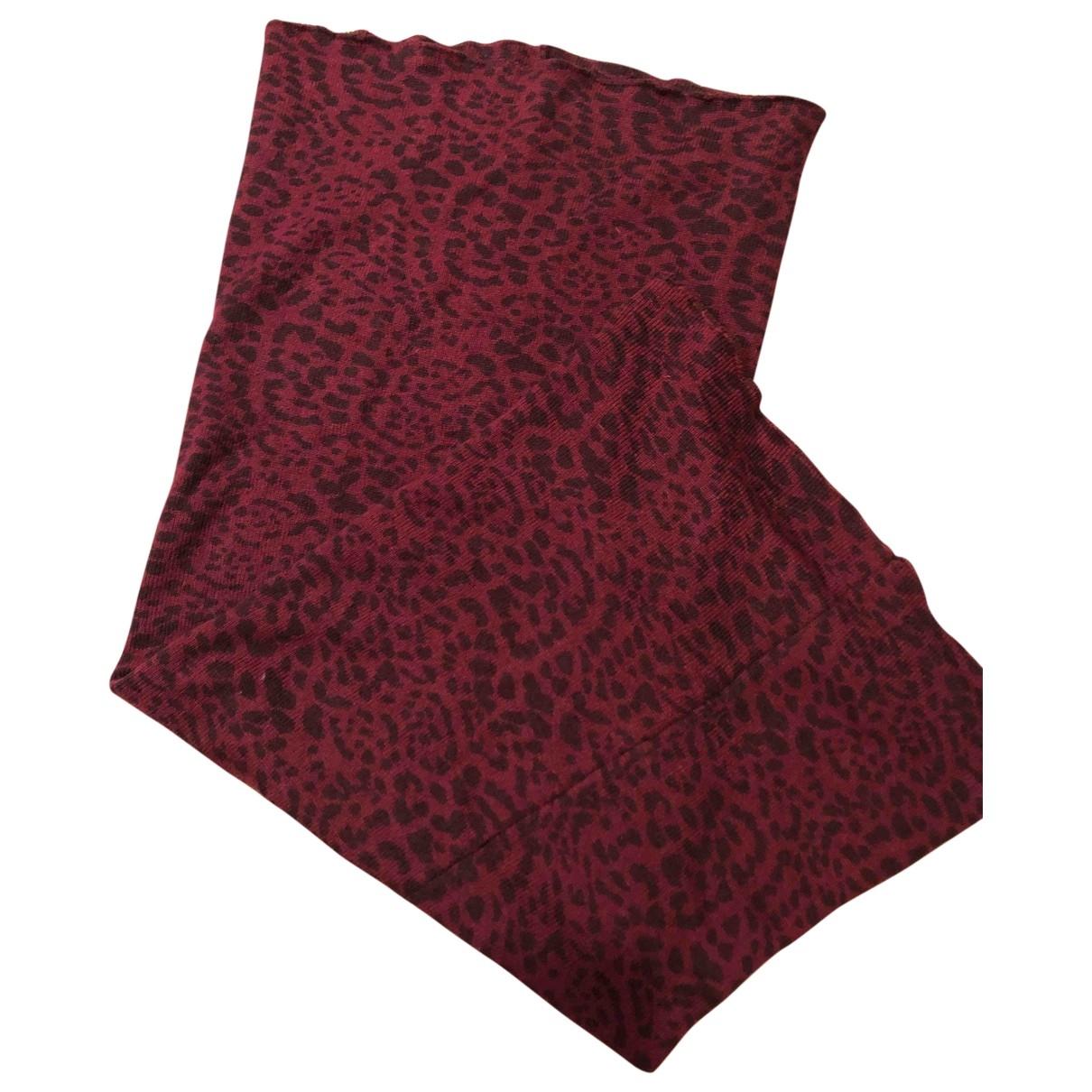 Maison Scotch \N Red Wool scarf for Women \N