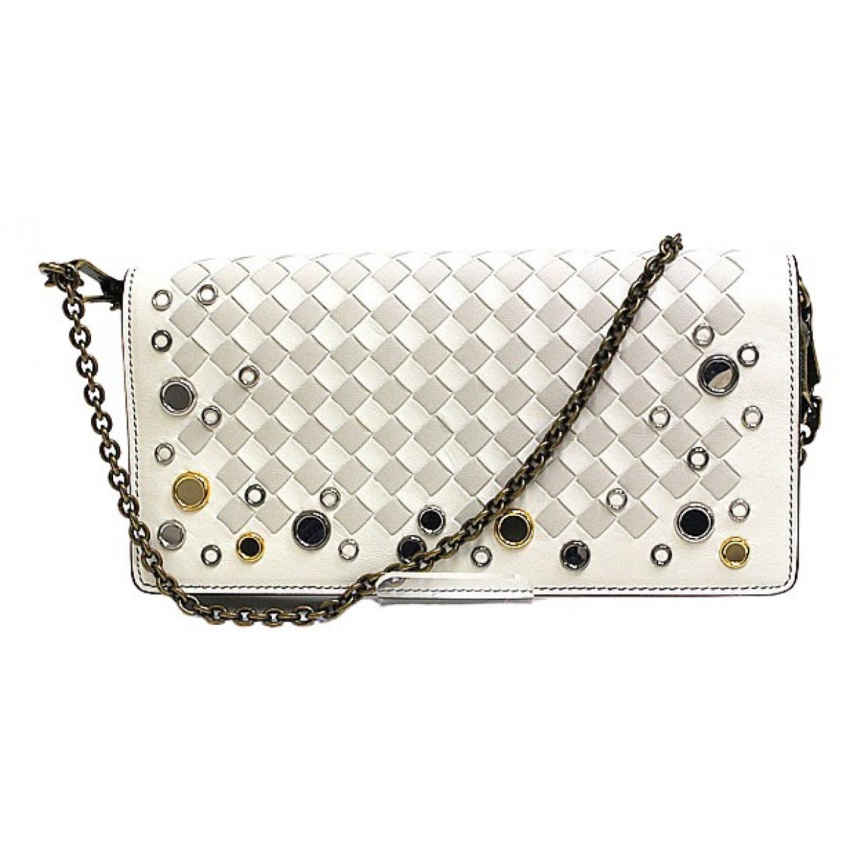 Bottega Veneta Intrecciato White Leather wallet for Women N