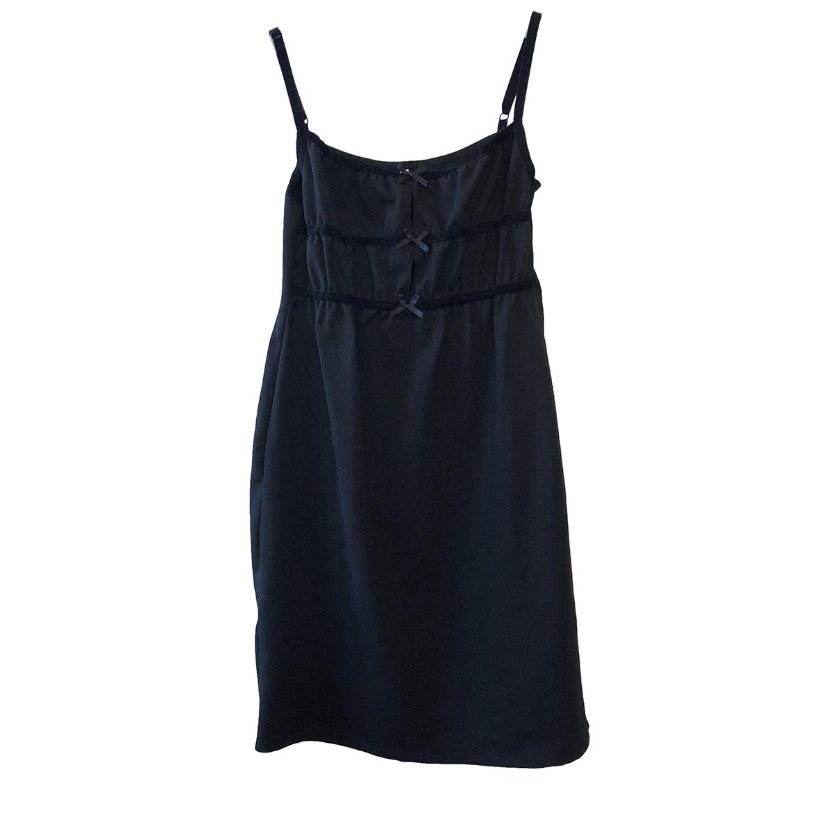 Solid & Striped \N Kleid in  Schwarz Viskose