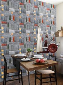 3D Brick Pattern Wall Sticker