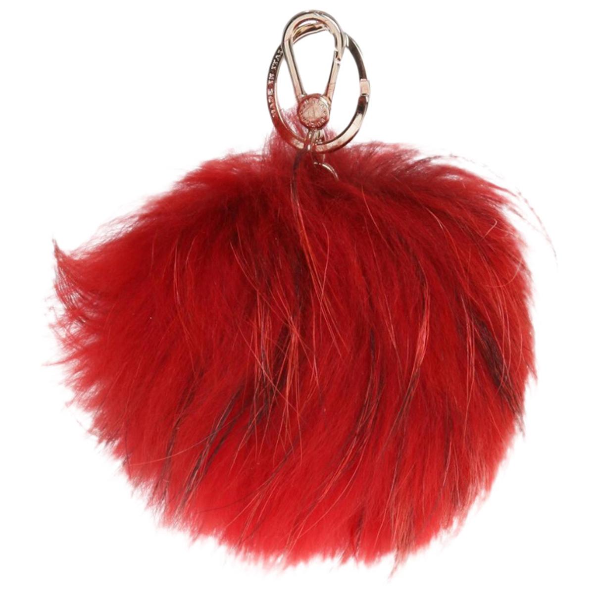 Furla - Bijoux de portable   pour femme en renard - rouge