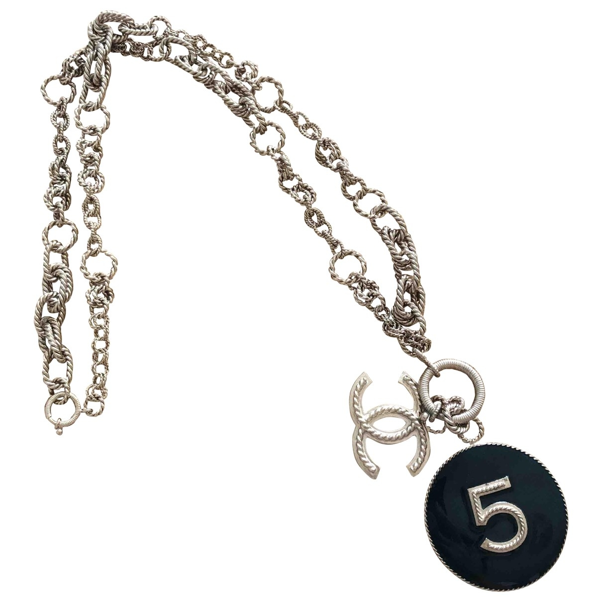 Chanel CC Kette in  Bunt Metall