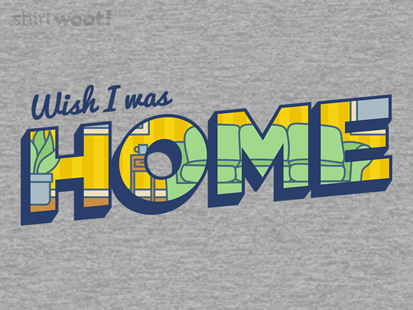 Postcard From Home T Shirt