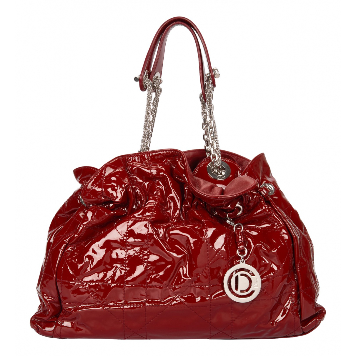 Dior N Red Patent leather handbag for Women N