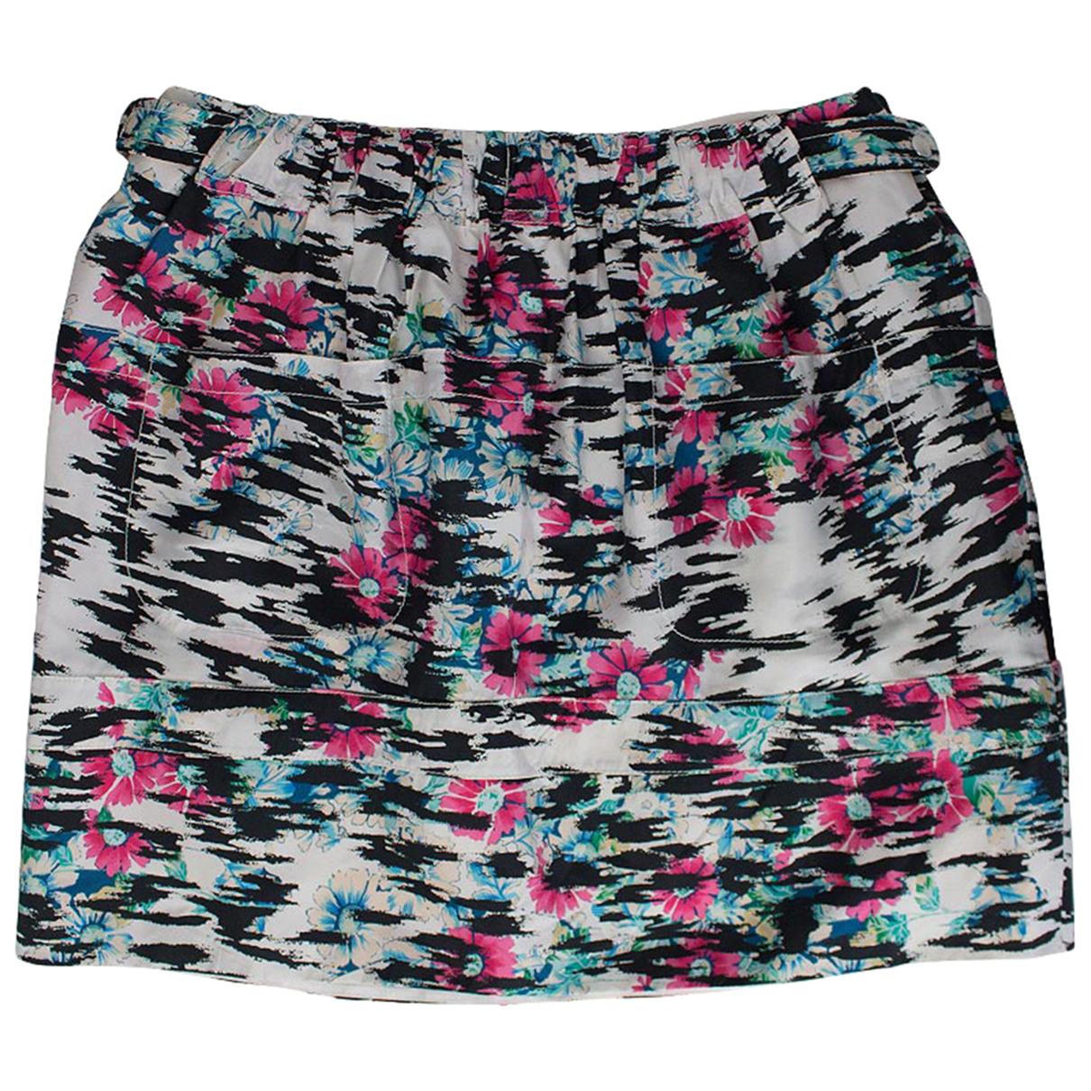 Balenciaga \N Multicolour Silk skirt for Women 38 FR