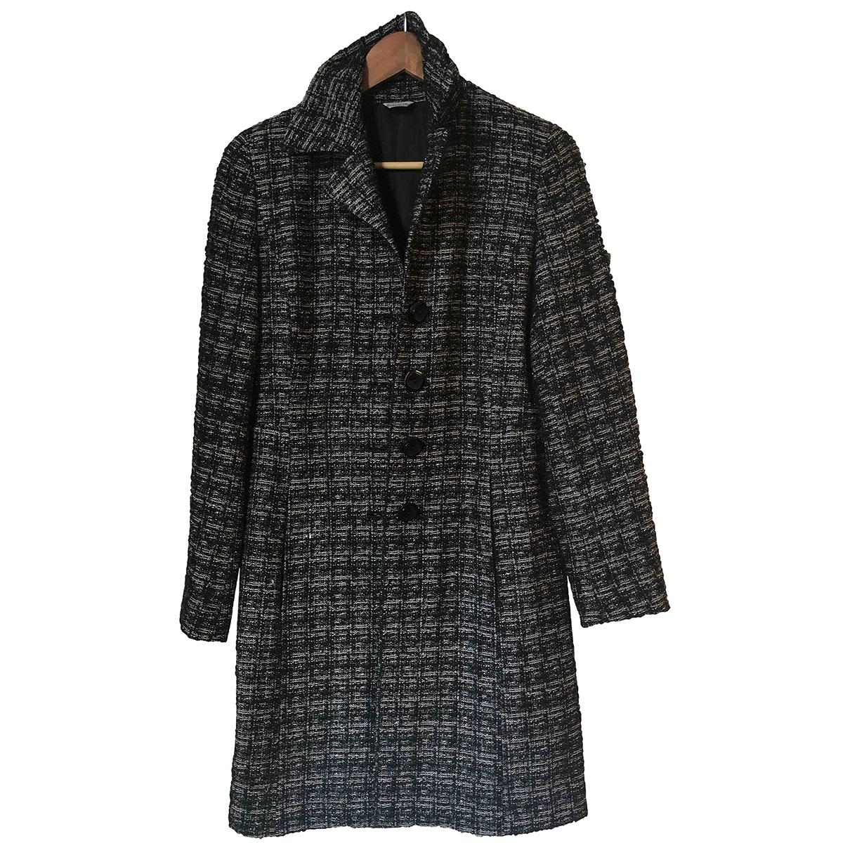 Max Mara - Manteau   pour femme en laine - noir