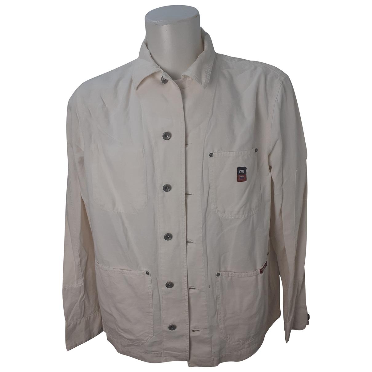 Gas - Chemises   pour homme en lin - blanc