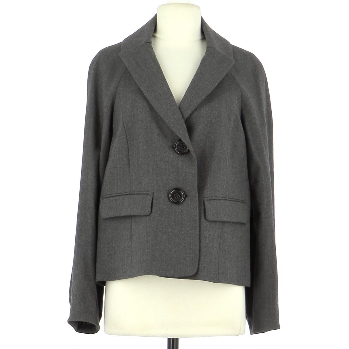 Gerard Darel \N Grey Wool jacket for Women 38 FR