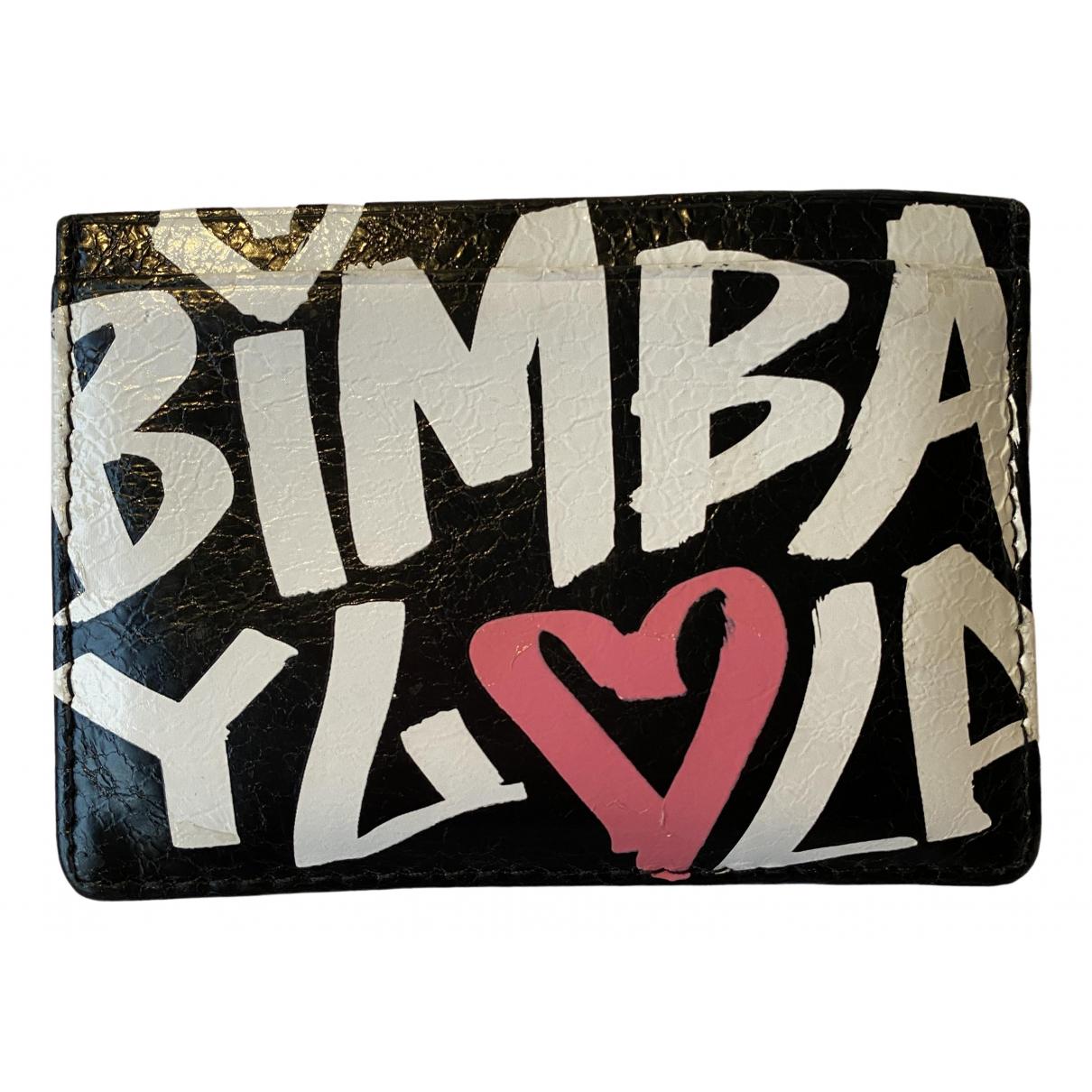 Bimba Y Lola - Portefeuille   pour femme en cuir - noir