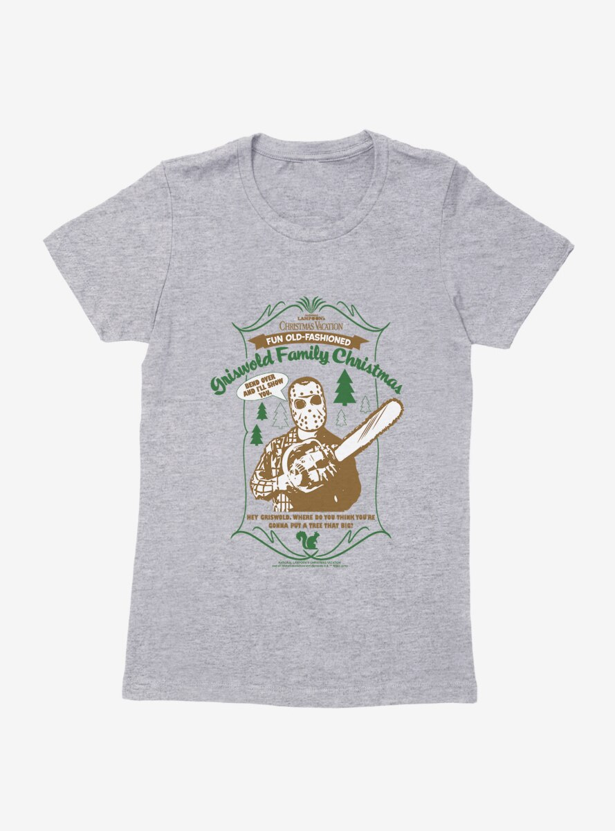 National Lampoon's Christmas Vacation Griswold Family Christmas Womens T-Shirt