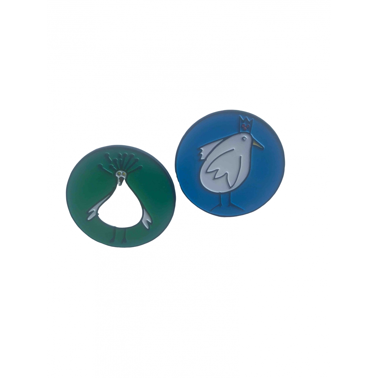 Marni \N Multicolour Steel Pins & brooches for Women \N