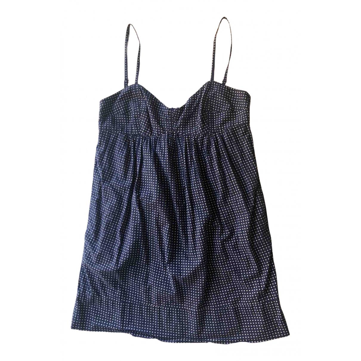 Zimmermann \N Kleid in  Blau Baumwolle