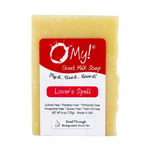 Goat Milk Soap Bar Lovers Spell 6 Oz by O My
