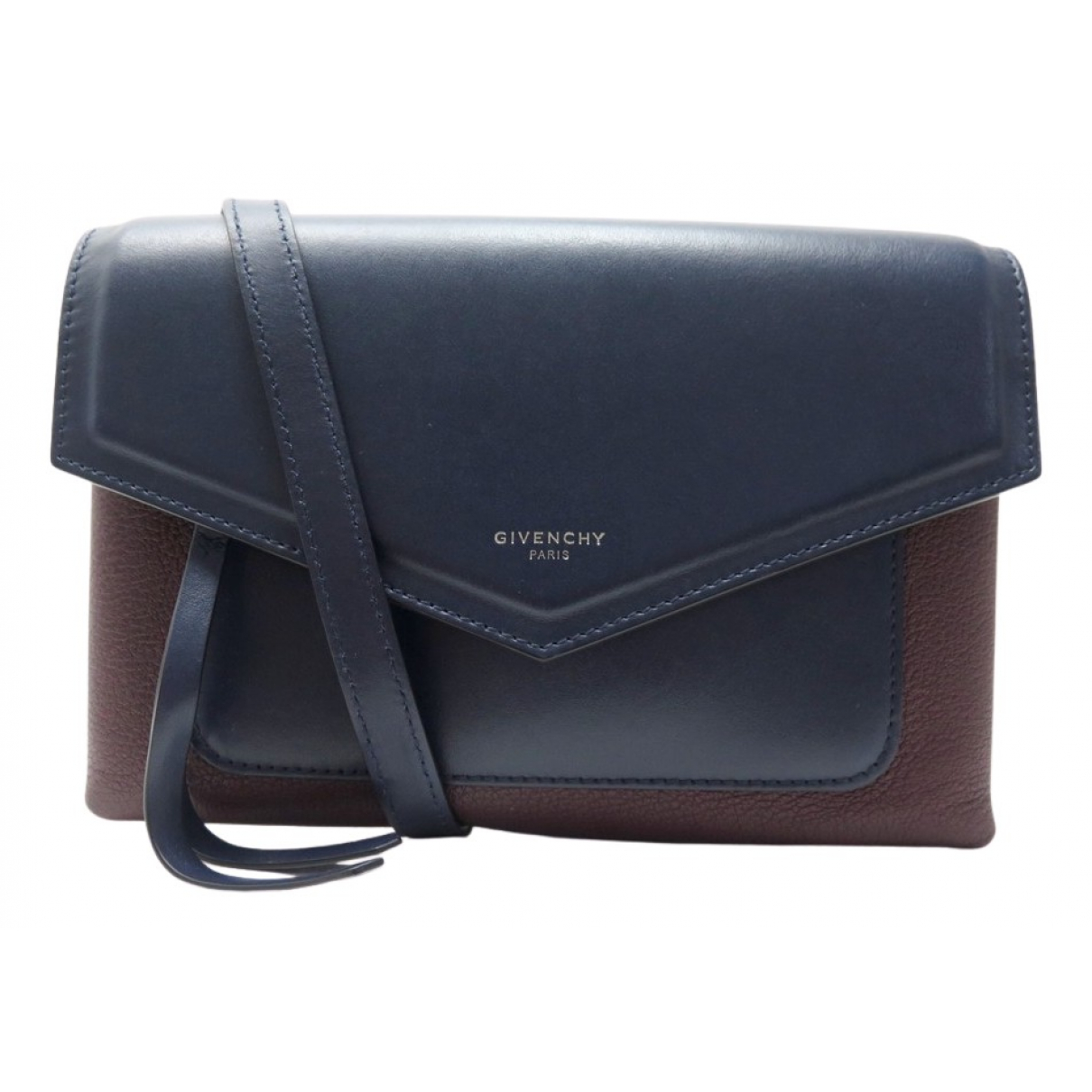 Givenchy N Navy Leather handbag for Women N
