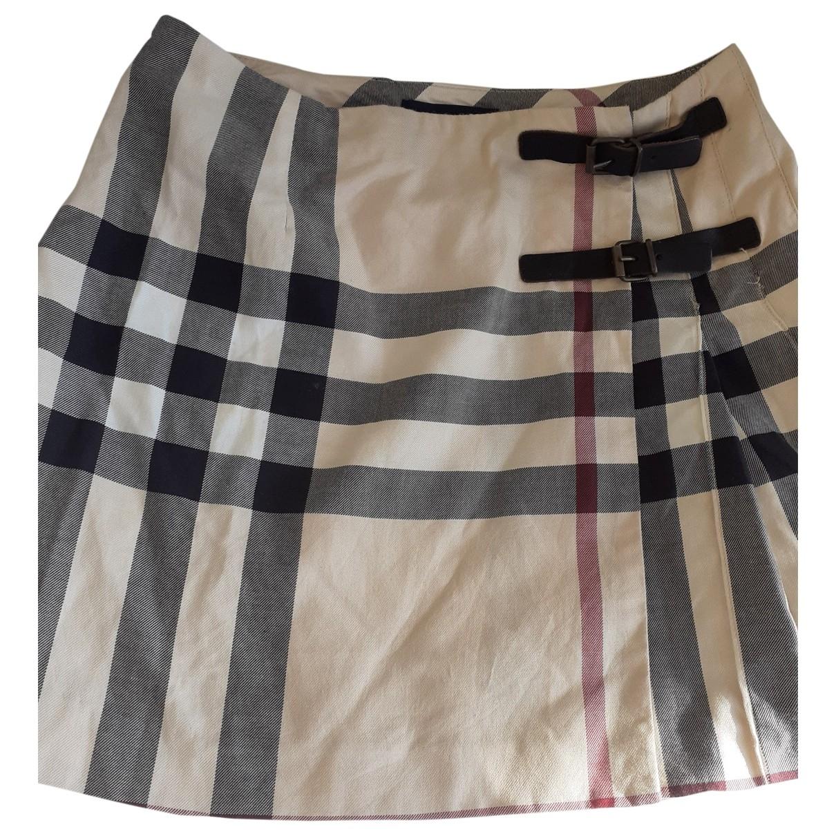 Mini falda Burberry