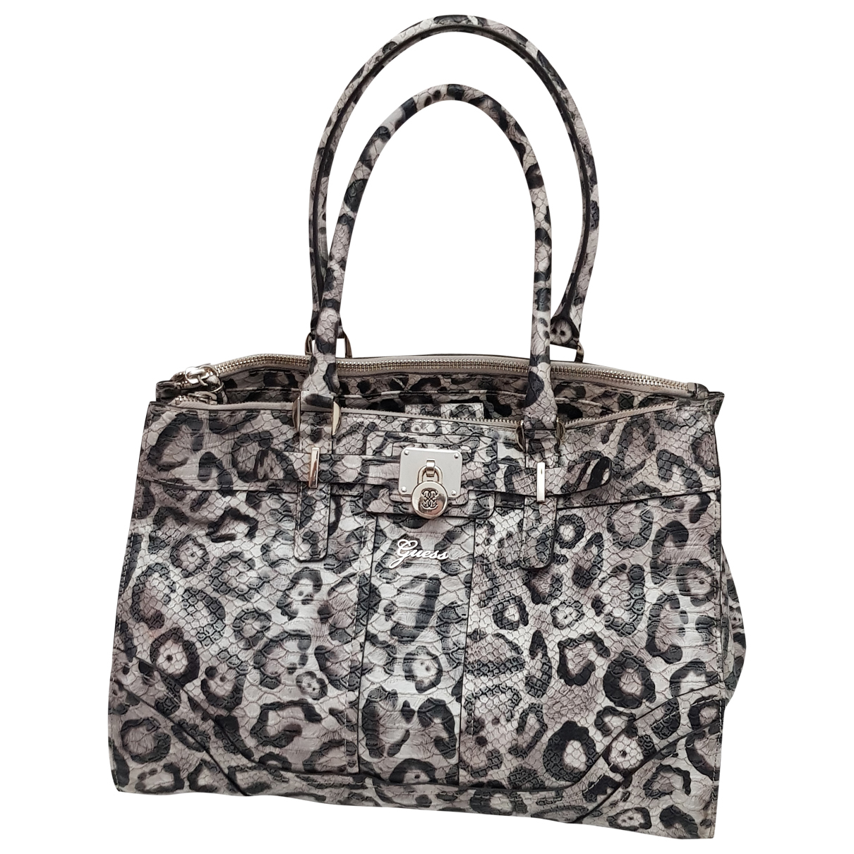 Guess \N Multicolour Leather handbag for Women \N