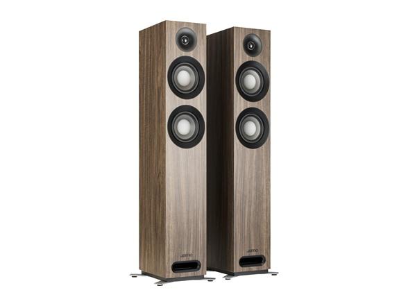 Jamo S 807 Floor Standing Speakers (pair) - Walnut