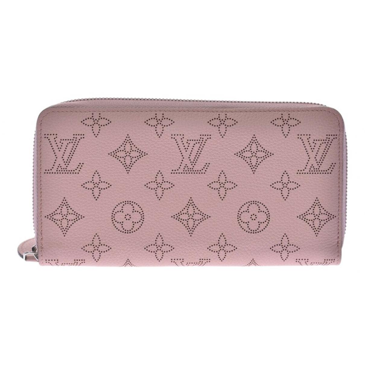 Louis Vuitton Zippy Pink Leather wallet for Women \N