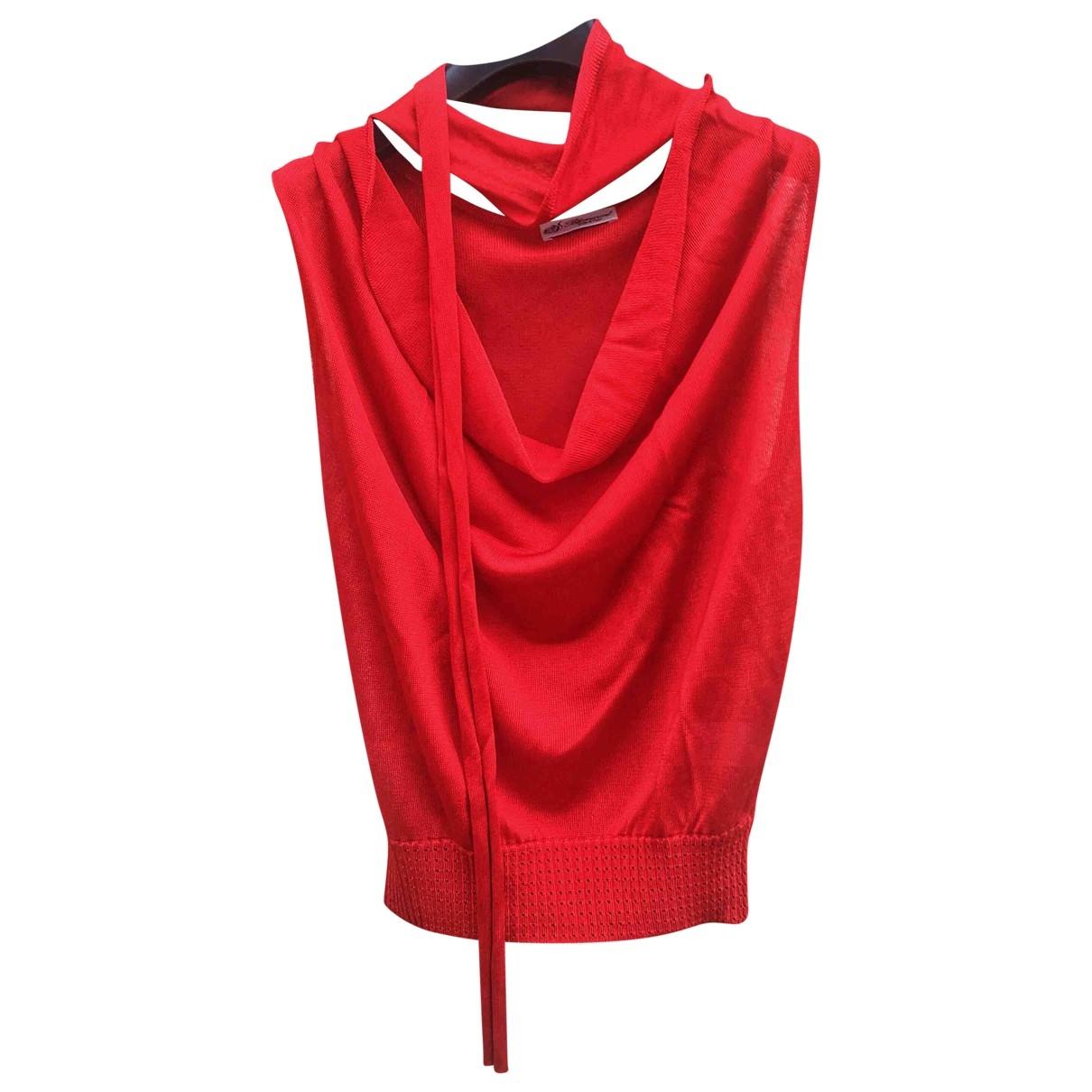 Blumarine - Top   pour femme - rouge