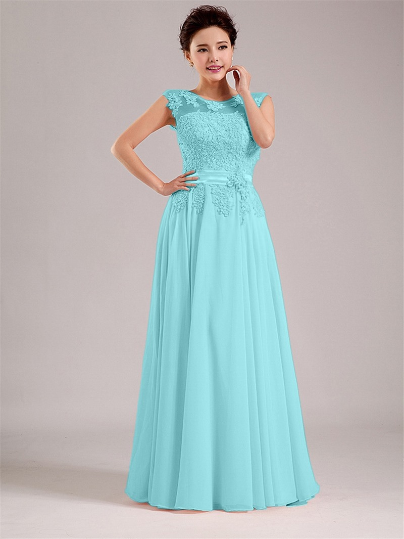 Ericdress Straps Appliques Bridesmaid Dress
