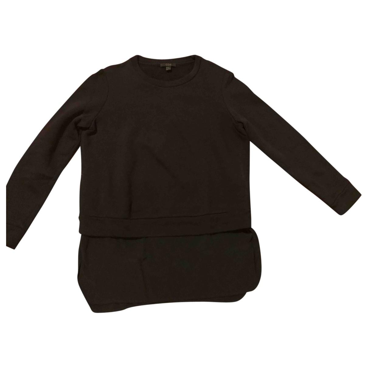 Cos \N Pullover in  Marine Baumwolle