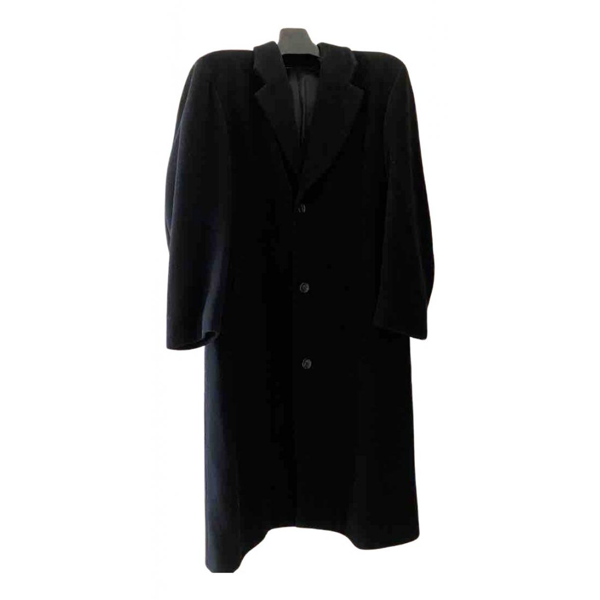 Boss - Manteau   pour homme en laine - noir