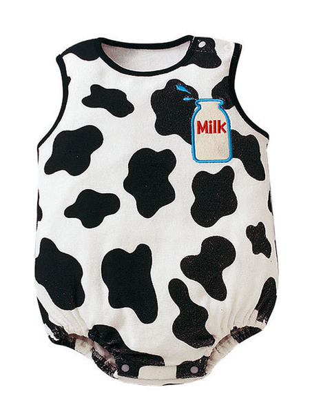 Milanoo Baby Cow Cosplay Costume Infant Kids Clothes Halloween Child Outfits