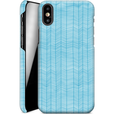Apple iPhone X Smartphone Huelle - Fishbone von caseable Designs