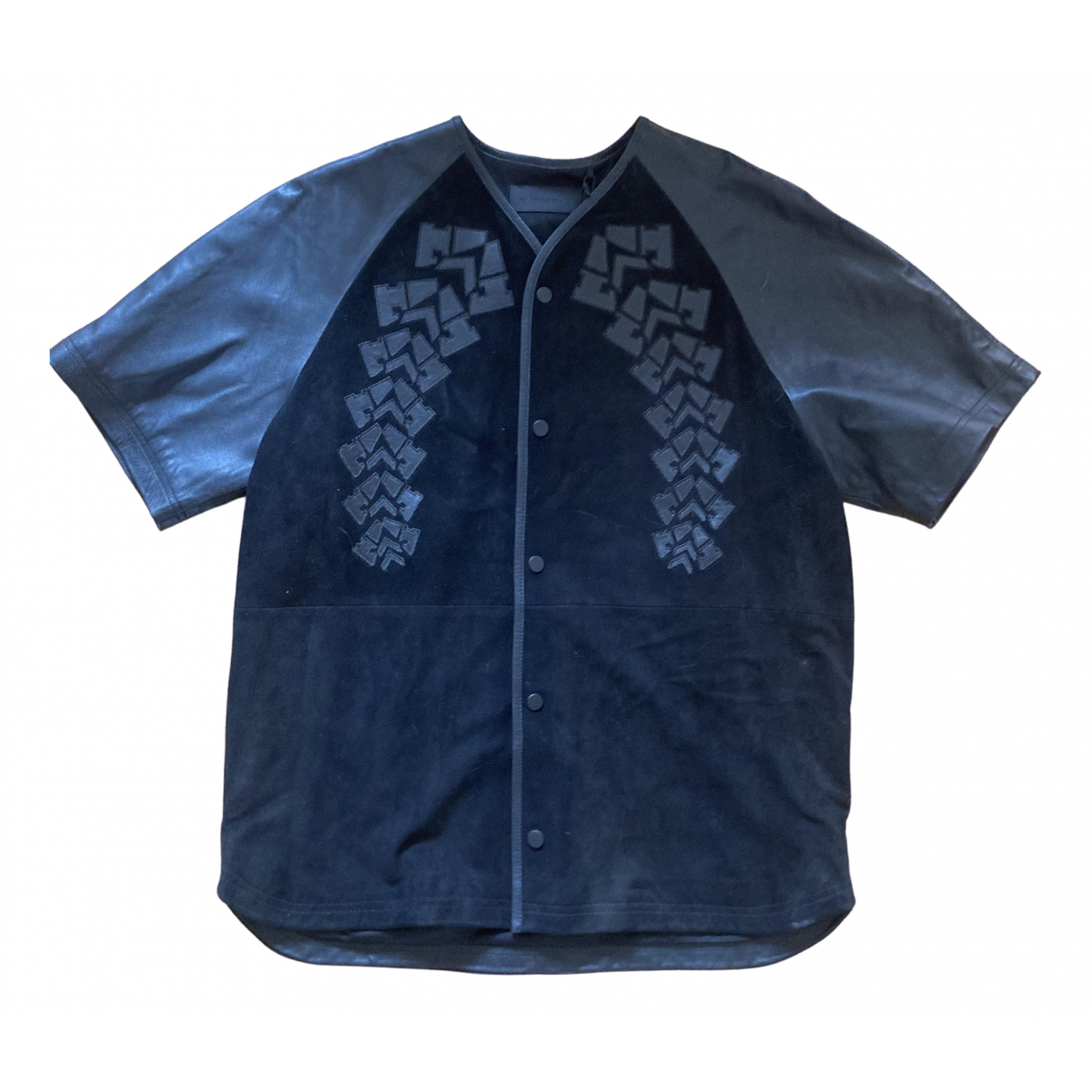 Alexander Wang Pour H&m \N Pullover.Westen.Sweatshirts  in  Schwarz Leder