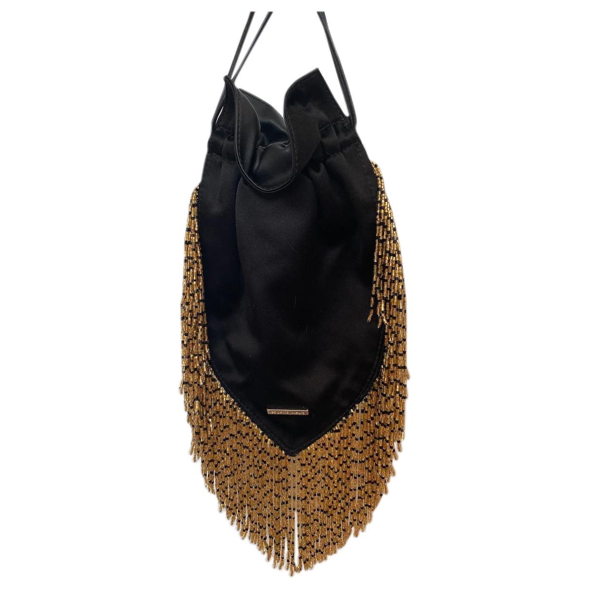 Les Petits Joueurs \N Black Leather handbag for Women \N