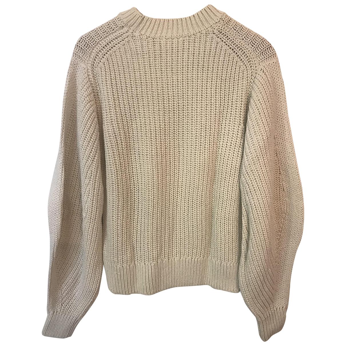 H&m Studio N Ecru Cotton Knitwear for Women S International