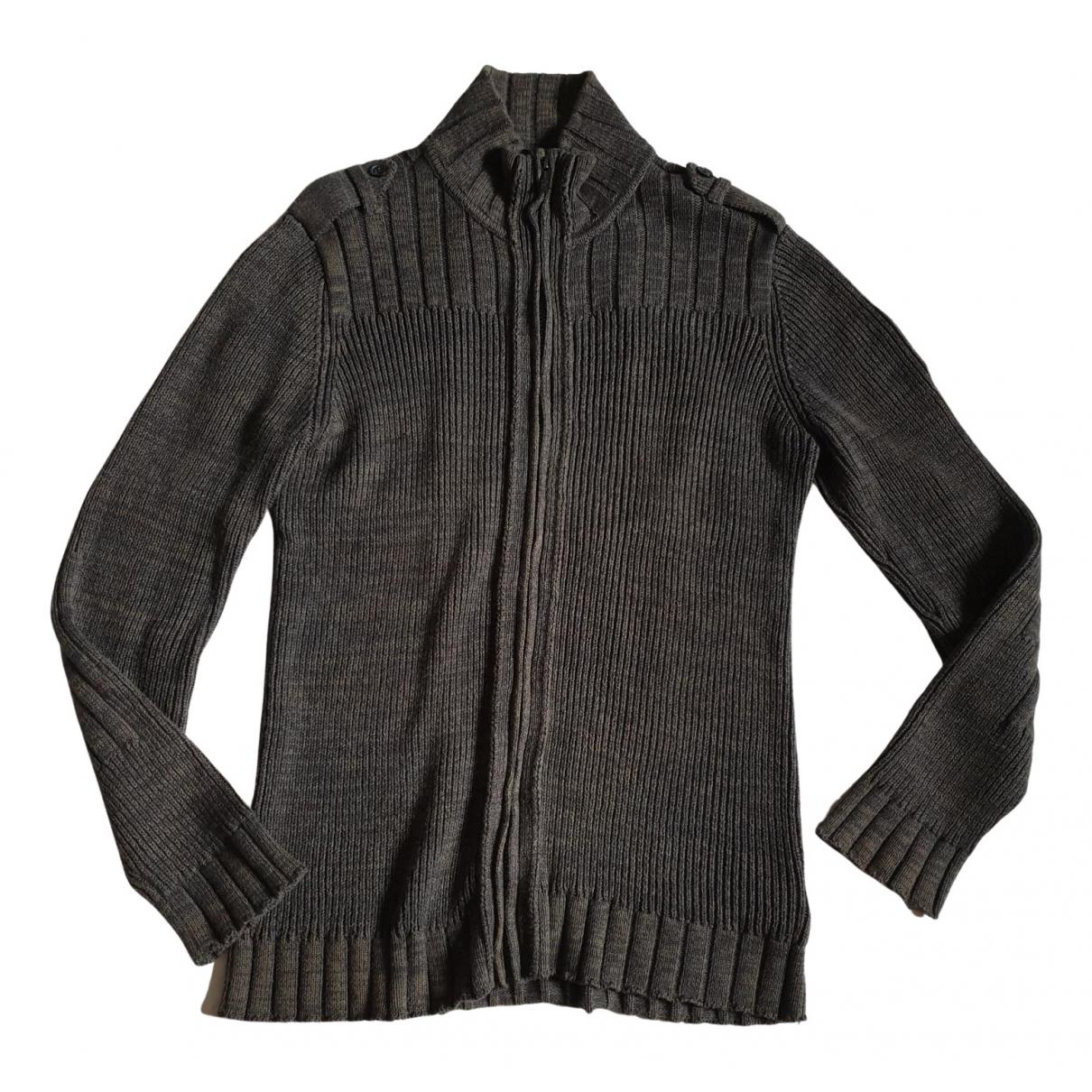 Calvin Klein \N Pullover.Westen.Sweatshirts  in  Braun Baumwolle