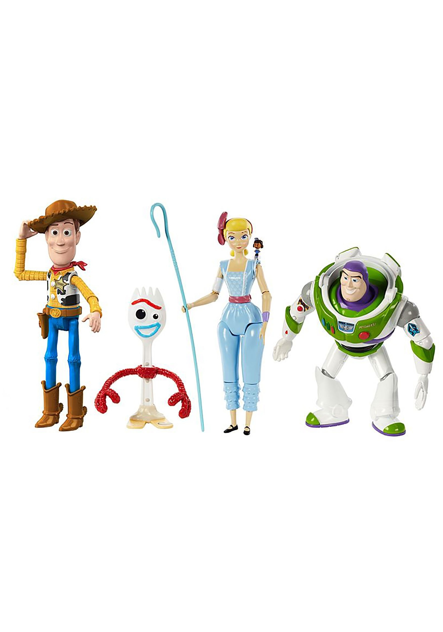 Toy Story 4 Figure 4 Pack Set