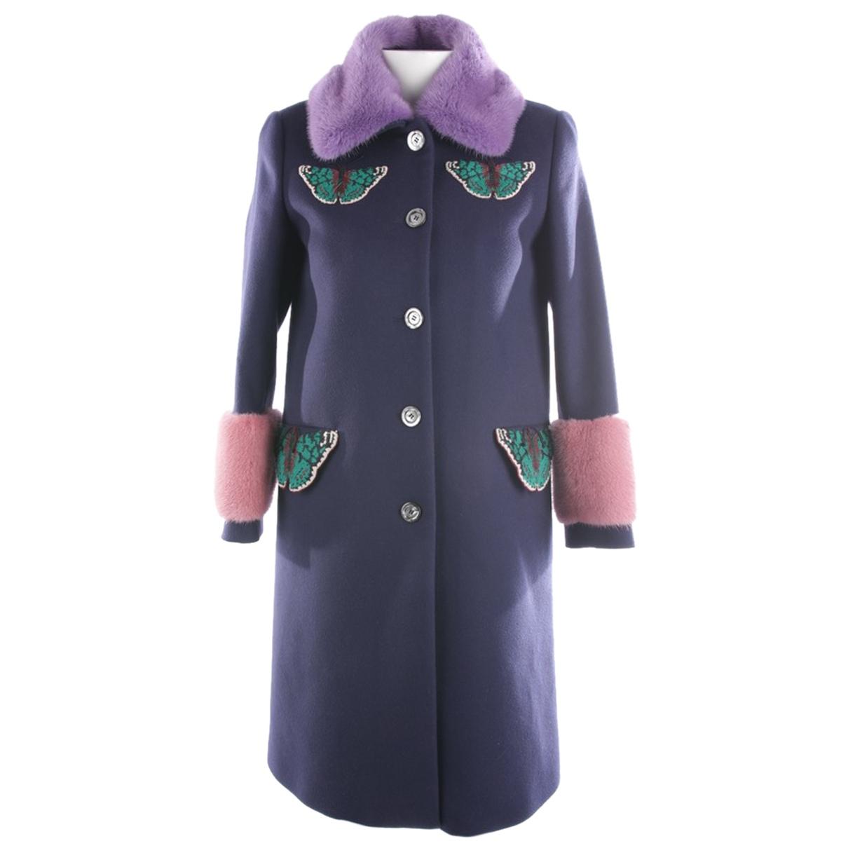 Gucci N Blue Cashmere jacket for Women 40 FR